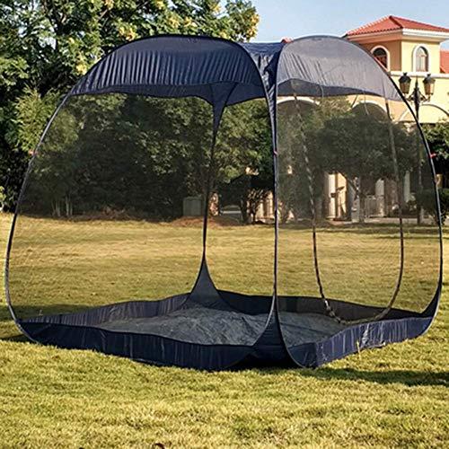DBSCD Alta Capacidad Toldo, automática Tienda de campaña al Aire Libre Viajes Sun Beach Tent Gasa Anti-Mosquitera 5-10 Personas Pergola, Anti-Mosquitos Cortina de la Red