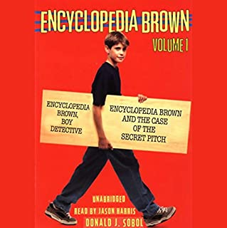 Encyclopedia Brown Mysteries cover art