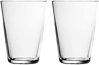 Iittala 004767SET Kartio glas 40 cl, uppsättning av 2, klart