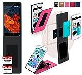 reboon Hülle für Meizu Pro 6S Tasche Cover Case Bumper | Pink | Testsieger