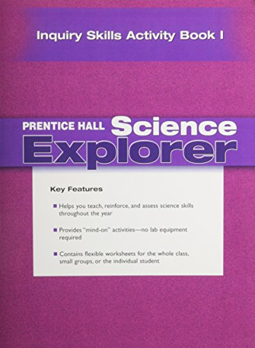 Download Science Explorer Inquiry Skills Activity Book 013190163X