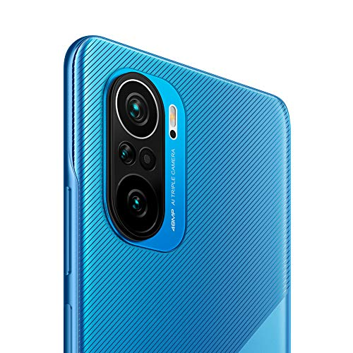 "POCO F3 - Smartphone 8+256GB, 6,67"" 120Hz AMOLED DotDisplay, Snapdragon 870, 48MP Tripla Camera, 4520mAh, Deep Ocean Blue (Versione Italiana + 2 Anni di Garanzia)"