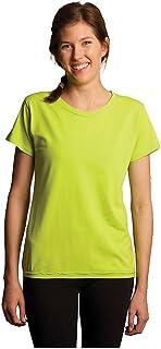 tasc performance Women's Mardi gras Scoop Neck Short Sleeve tee Shirt