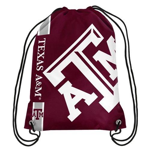 Texas A&M Aggies NCAA Big Logo Drawstring Backpack