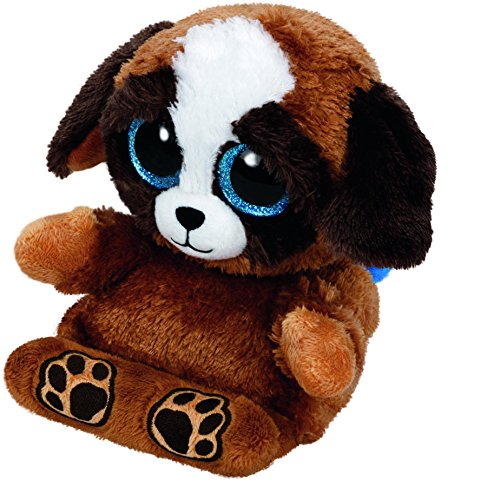 Pups - Hund, 15cm, mit Glitzeraugen, Peek-A-Boos, Smartphonehalter