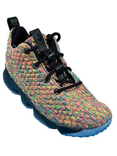 Nike Lebron Xv (ps) Little Kids 922812-901 Size 2 Multi-Color/Black