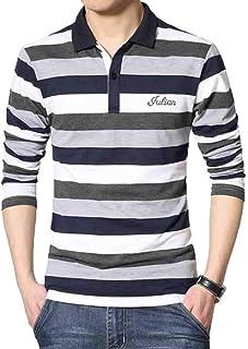 Sports Apparel Activewear BU2H Women Fashion Long Sleeve Colorblock Striped Pocket Button Down Shirts