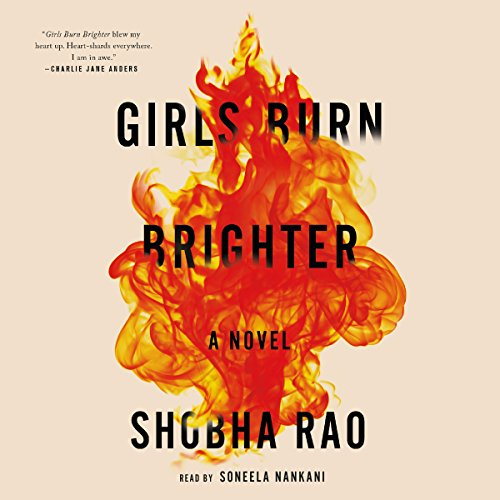 Girls Burn Brighter audiobook cover art