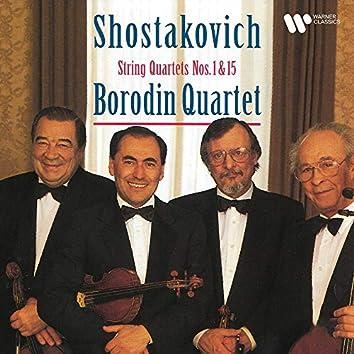 Shostakovich: String Quartets Nos. 1 & 15