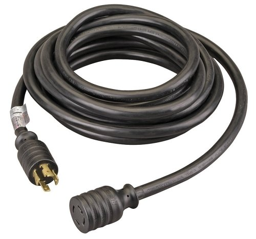 Reliance Controls PC3020 PC3020K Generator Power Cord, Black