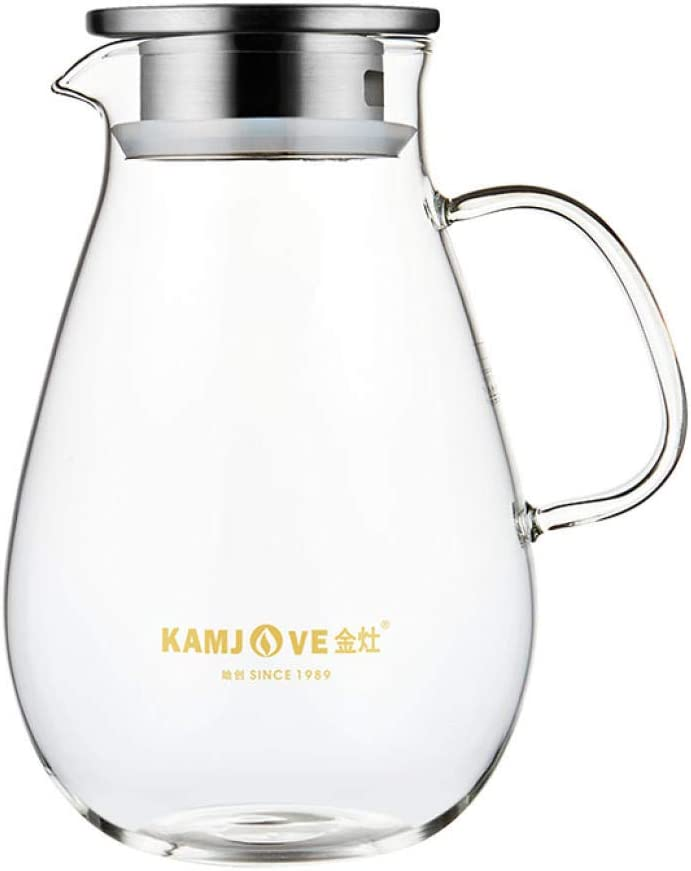 Large-capacity glass jug juice Spasm price pot cold household Fort Worth Mall water bott