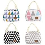 Insulated Lunch Bag, Portable Travel Container Lunch Tote Bag Picnic Handbag Food Storage