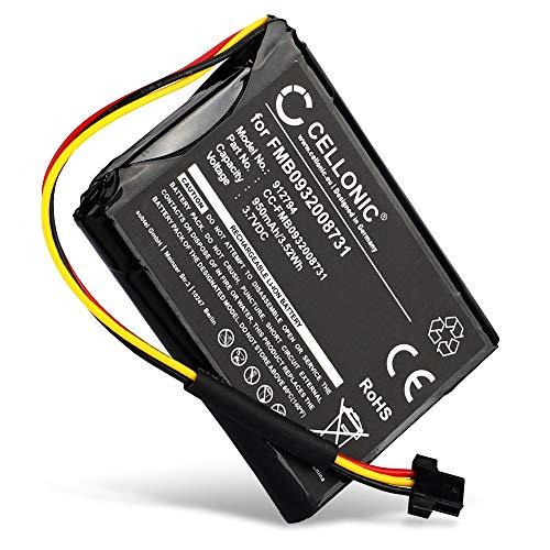 CELLONIC® Batería Premium Compatible con Tomtom Go 500 (2013), Go 510 (2013), Go 50 / Start 50, FMB0932008731,AHA11110005,6027A0089521 950mAh Pila Repuesto bateria
