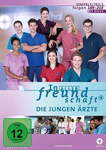 In aller Freundschaft - Die jungen Ärzte, Staffel 5, Folgen 189-210 [7 DVDs]