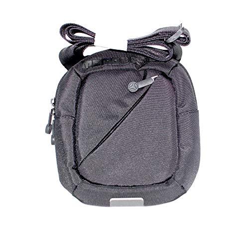 MOMO Design Borsello trasversale da uomo colore nero con tasca esterna e tasche interne. MD-001-10A. BIOSABORSE