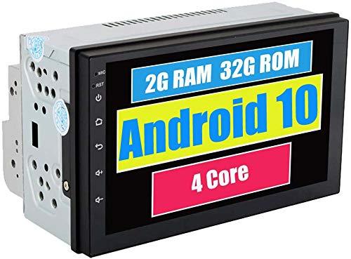 Roverone 7 Pouces Android 7.1 universel double DIN Autoradio GPS avec lecteur 2G + 16G Quad Core Sortie HDMI Full écran tactile