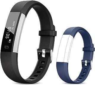 TOOBUR Fitness Activity Tracker Watch for Kids Women Men, Pedometer, Calorie Counter, IP67 Waterproof Step Counter Watch w...
