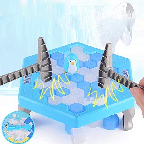 Turtle Story Juguete Partido Penguin Puzzle de Hielo Niños Juego Ice Break Bloque Martillo Trampa JXNB