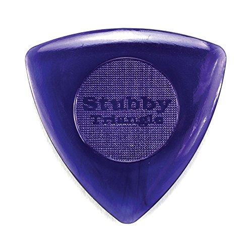 Dunlop 473P3.0 Tri Stubby, Dark Purple, 3.0mm, 6/Player's Pack