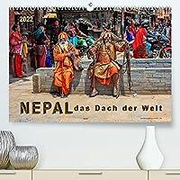 Nepal - das Dach der Welt (Premium, hochwertiger DIN A2 Wandkalender 2022, Kunstdruck in Hochglanz): Der kleine Himalaya-Staat Nepal - faszinierendes Land, aber auch stark gefaehrdet. (Monatskalender, 14 Seiten )