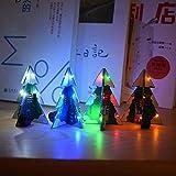 JCCOZ - URG 3D SMD PCB estereofonía para árbol de Navidad DIY kit de música URG (color: colorido)