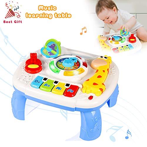 ACTRINIC Mesa Musical De Estudio Juguete para Bebés De 6 A 12 Meses Juguete De...