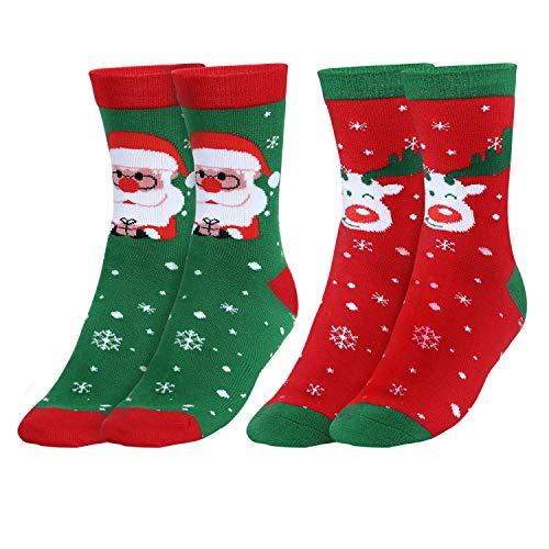 Andake Calcetín de Navidad Medias L