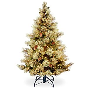 National Tree Includes Pre-Strung White Lights