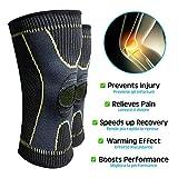 Zoom IMG-1 alenyk ginocchiera ortopedica compressione ginocchio