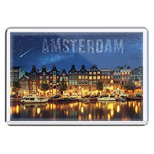 stadtecken magneten 10x7cm +++ Amsterdam motieven: Stars I Holland Nederland | koelkastmagneten I Leven & Momenten grappig I Whiteboard I Souvenir I Gift I Cadeau-idee