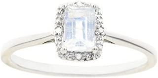 Best moonstone and diamond ring Reviews