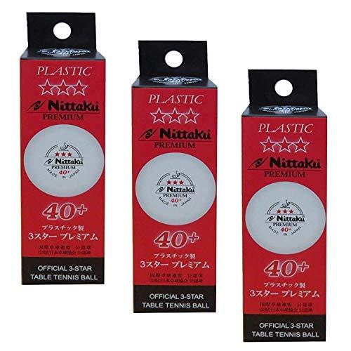 Review Of NITTAKU 3-Star Premium 40+ Table Tennis Balls (9 Balls)