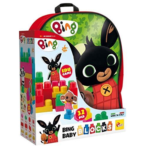 Lisciani Spiele Bing Rucksack für Kinder rot