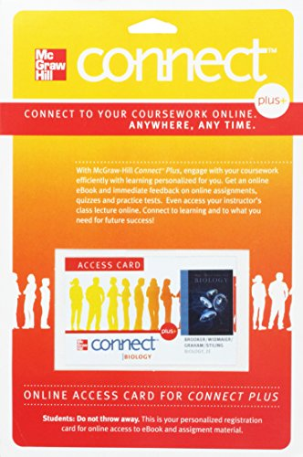 McGraw-Hill Connect+ Biology, 2nd Edition