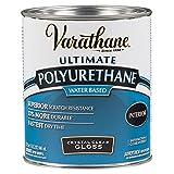 Varathane 200041H Water-Based Ultimate Polyurethane, Quart, Gloss Finish, 32 Fl Oz