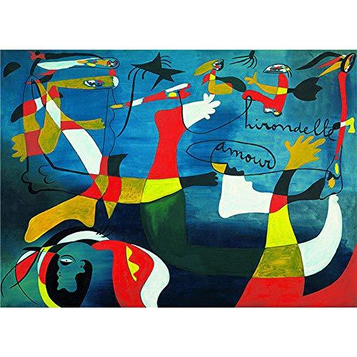 Pintura por números, pintura al óleo digital de bricolaje, regalo de pintura al óleo sobre lienzo preimpreso de bricolaje, famosa pintura al óleo abstracta de Picasso