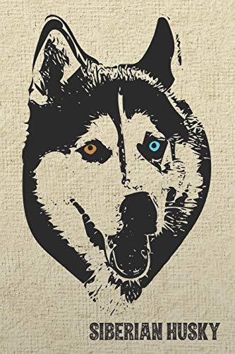 Siberian Husky Notebook: Stylish Lined Notebook For Sibe Lovers (Pedigree Prints Dog...