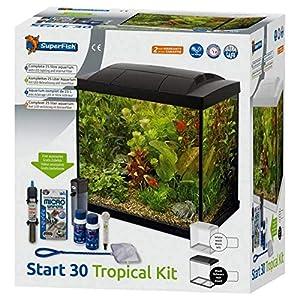 Superfish Start 30 Aquarium Tropical 25L – Black