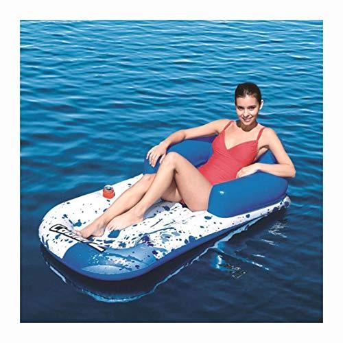 YBZS Schwimmring,Wassersitz/Männliche Und Weibliche Stuhl/Umweltfreundliche Polymer PVC/Tragender 200Kg / Leichtgewichtler/Strand Wasserkissen