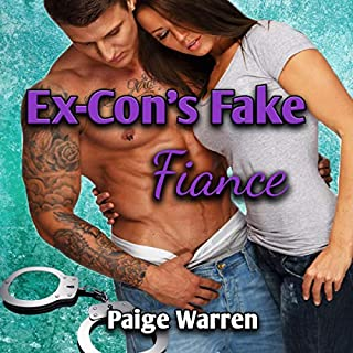 Ex-Con's Fake Fiance audiobook cover art