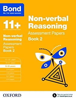 Bond 11+: Non Verbal Reasoning: Assessment Papers: Book 2: 9-10 Years by Nic Morgan (2015-03-05)