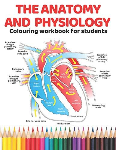Den anatomy och fysiologiska färgarbetsbok för studenter: Den ultimata guiden för att lära sig anatomy och fysiologi det själsliga och mest effektiva ... UK Edition (Anatomy colouring book, volym 1)
