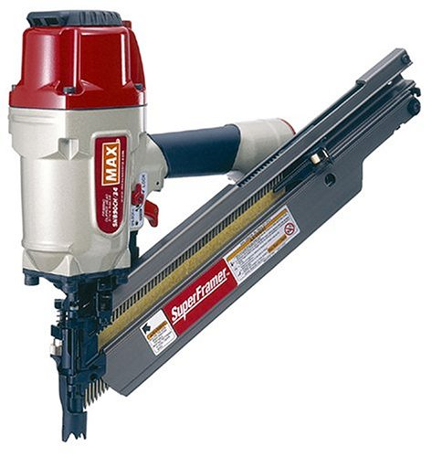Max SN890CH/34 Clipped Head 2-Inch to 3-1/2-Inch Framing Nailer