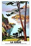 Poster Korsika Ajaccio auf Anfrage auf Aquarellpapier, 300