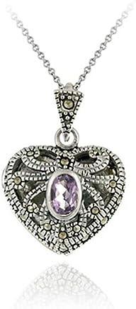 12mm Glitzs Jewels Sterling Silver Claddaugh Pendant