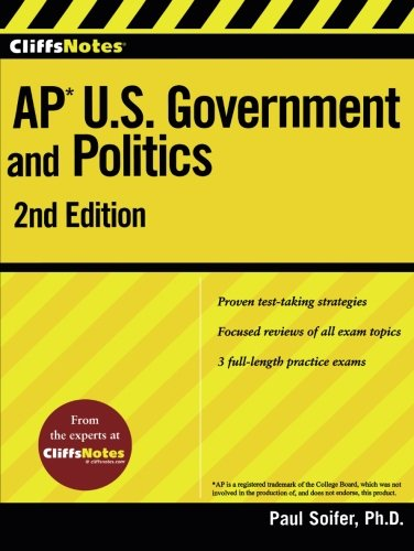 CliffsNotes AP U.S. Government and Politics 2nd Edition (Cliffs AP)