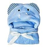 LNIMIKIY Baby Handtücher mit Kapuze, Lovely Soft Coral Fleece Warme Decke Baby Badetücher, Ultra Weich und Extra Groß Strandtuch für Neugeborene Mädchen Jungen Bademantel, 0-24 Monate