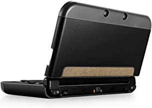 TNP New 3DS XL Case (Black) - Plastic + Aluminium Full Body Protective Snap-on Hard Shell Skin Case Cover for New Nintendo 3DS LL XL 2015 - [New Modified Hinge-Less Design]