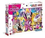 Clementoni- Puzzle Suelo 60 Piezas Minnie Happy Helpers, Multicolor (26443.8)