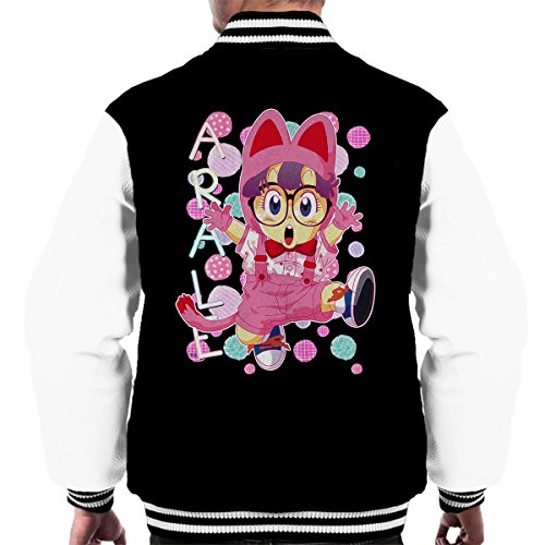 Arale Norimaki Cat Maglia Dr Slump Men's Varsity Jacket
